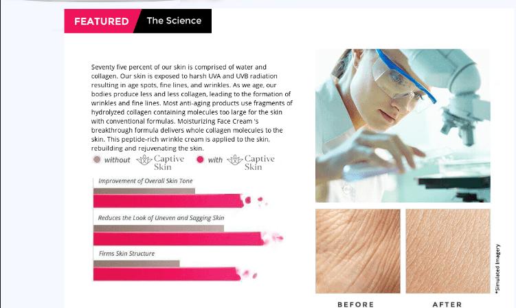 Captive Skin Moisturizing Face Cream