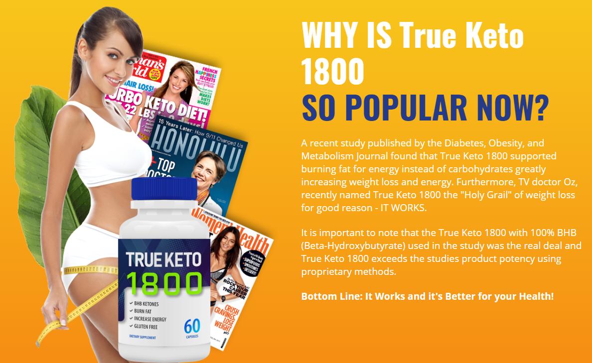 True Keto 1800 Reviews: True Keto 1800 Ingredients, Work & Price (Updated 2021)